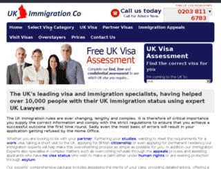 ukimmigrationco.com screenshot