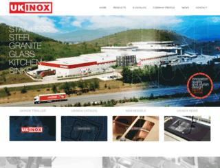 ukinox.com screenshot