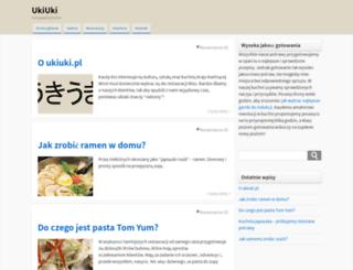 ukiuki.pl screenshot