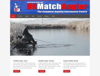 ukmatchangler.com screenshot