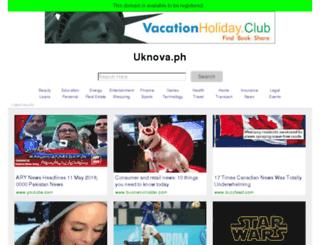 uknova.ph screenshot