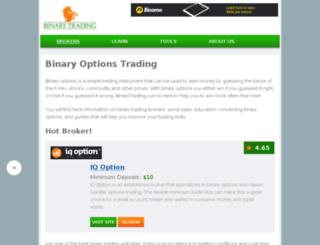 ukoptions.com screenshot