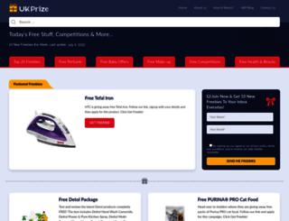 ukprize.co.uk screenshot