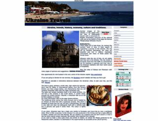 ukraine-travels.com screenshot