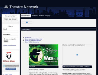 uktheatre.net screenshot