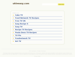 uktveasy.com screenshot