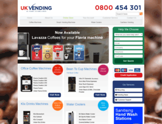 ukvending.co.uk screenshot