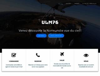 ulm76.fr screenshot