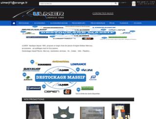 ulmerbateaux.com screenshot