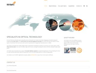 ulooptics.com screenshot