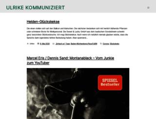 ulrikekommuniziert.com screenshot