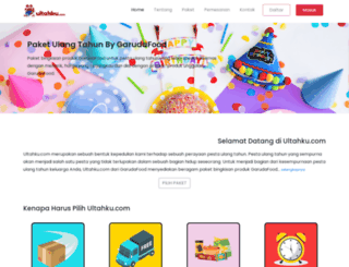 ultahku.com screenshot
