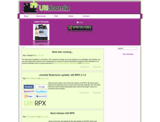 ultijoomla.com screenshot