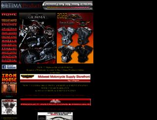 ultimaproducts.com screenshot