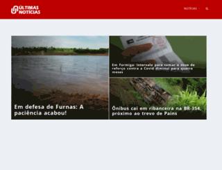 ultimasnoticias.inf.br screenshot