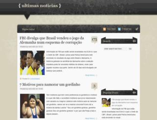 ultimasnott.blogspot.com.br screenshot