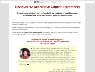 ultimate-cancer-breakthroughs.com screenshot