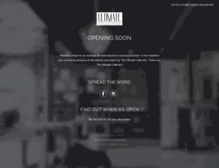 ultimate-collection-nyc.myshopify.com screenshot