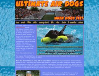 ultimateairdogs.com screenshot