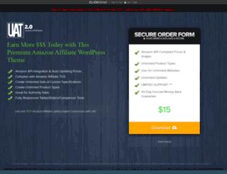 ultimateazontheme.com screenshot