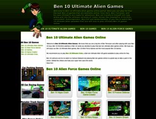 ultimateben10games.com screenshot
