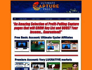 ultimatecapturepages.com screenshot