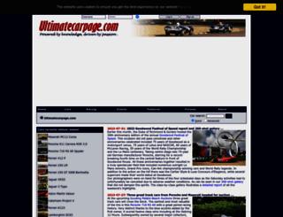 ultimatecarpage.com screenshot