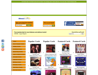 ultimateecards.com screenshot