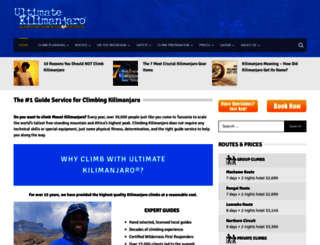 ultimatekilimanjaro.com screenshot