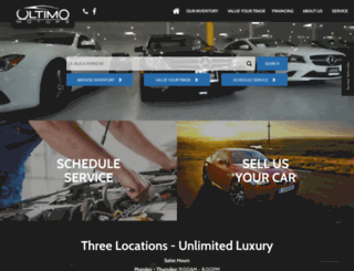 ultimomotors.com screenshot