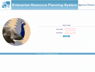 ultra-erp.com screenshot