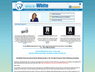 ultra-white.com screenshot