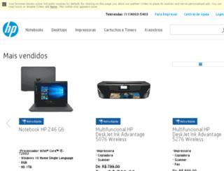 ultrabookparaempresas.lojahp.com.br screenshot