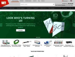 ultradent.com screenshot