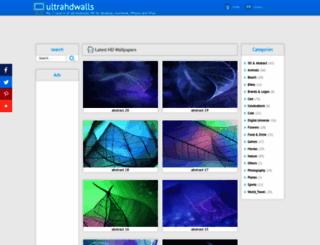 ultrahdwalls2.blogspot.com screenshot