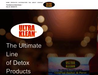 ultraklean.com screenshot