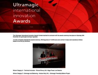 ultramagicawards.com screenshot