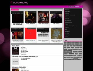 ultramilanosanremo.it screenshot
