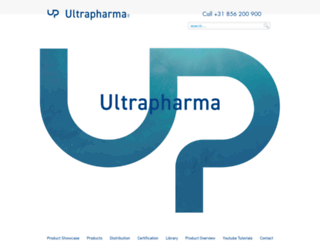 ultrapharma.com screenshot