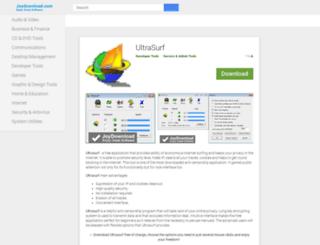 ultrasurf.joydownload.com screenshot