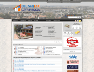 uludaglar.com screenshot