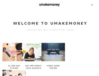 umakemoney.com screenshot