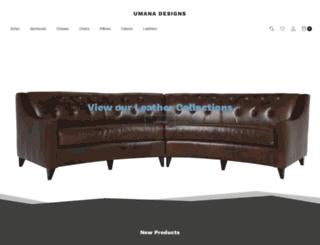 umanadesigns.com screenshot