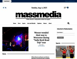 umassmedia.com screenshot