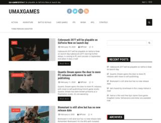 umaxgames.com screenshot