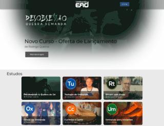 umbandaead.com.br screenshot