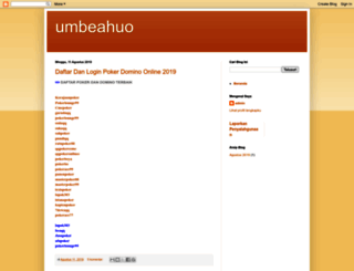 umbeahuo.blogspot.com screenshot
