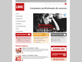 umc.pt screenshot