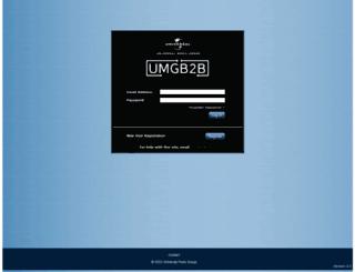 umgdb2b.com screenshot
