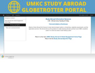 umkc-sa.terradotta.com screenshot